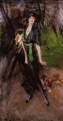 Lina Bilitis with Two Pekinese.jpg
