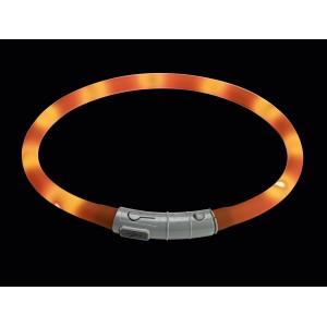 Hunter cветящийся шнурок на шею LED  20-70 см оранжевый