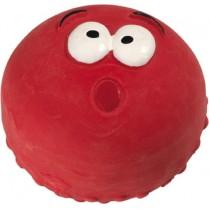 Hunter Smart игрушка для собак Смайлик красный 5 см латекс