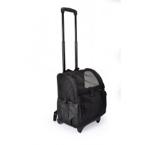 Рюкзак-трасформер (автосумка, подстилка) с сеткой на колесиках со складной ручкой