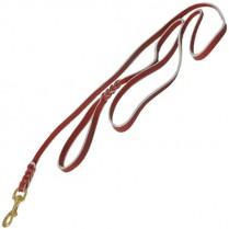 Поводок кожаный ринговый, 10 мм
